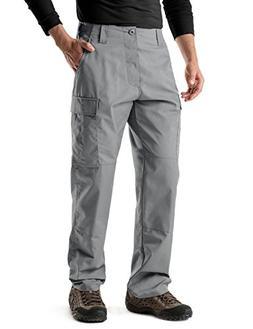CQR CQ-UBP01-STN_S/Regular Men's BDU Rip Stop Trouser EDC Ta