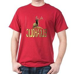 CafePress Elkaholic Gear and Gifts 100% Cotton T-Shirt Cardi