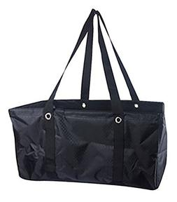 Defective No Logo Large Utility Tote in Black