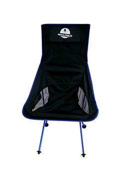 DuraLounge Portable Lightweight Folding High Back Camping Ch
