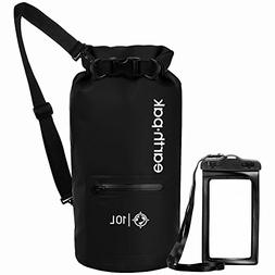 Earth Pak- Waterproof Dry Bag with Front Zippered Pocket Kee
