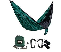 K2 Camp Gear - Original Double Camping Hammock - Premium Alu