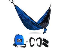 K2 Camp Gear - Original Double Camping Hammock with Premium