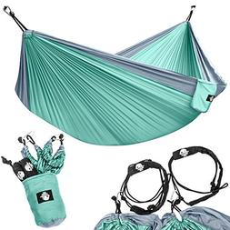 Legit Camping - Double Hammock - Lightweight Parachute Porta