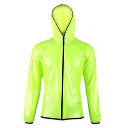 Man Women Waterproof Portable Rain Suit, Rain Gear Poncho wi