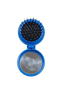 Mountain Warehouse Travel Hair Brush - Compact Mirror & Bris