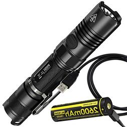 Nitecore P12GT 1000 Lumens Compact Tactical LED Flashlight B