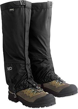 Outdoor Research Cascadia Gaiters, Black, X-Large