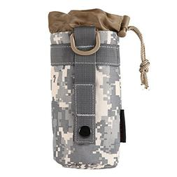 Outdoor Tactical Gear Military Molle System Water Bottle Bag