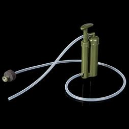 Portable plastic Ceramic Soldier Water Filter Purifier Clean