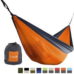 Rallt Single Camping Hammock - Ripstop Parachute Nylon - Lig