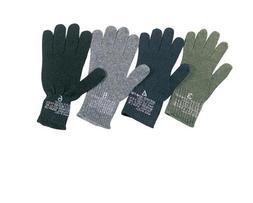 Rothco Gi Wool Glove Liners, 4 Size, Black