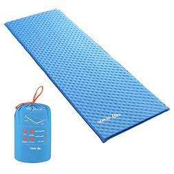 SEMOO Self-Inflating Camping Sleeping Mat/pad, Lightweight,