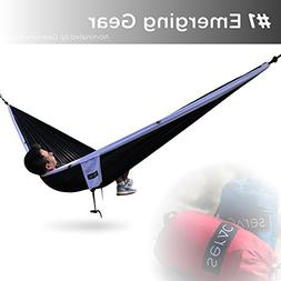 Serac  Sequoia XL Portable Double Camping Hammock with Ripst