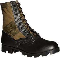 Stansport Jungle Boots, Olive Drab, 3R