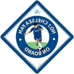 Texsport No. Chelsea Fan Car Sign, Footbal Sign, Chelsea, Fo