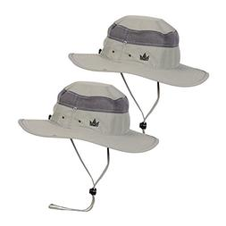 The Friendly Swede Sun Hats 2-Pack - Safari Hat for Men Wome