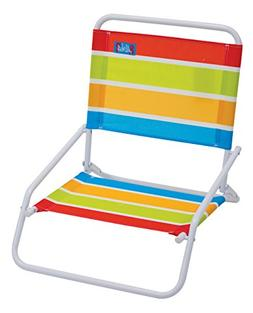 RIO Gear Rio Brands Aloha Sand Chair, Turquoise/Yellow/Lime/