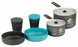 Sea to Summit Alpha 2.7 L Pot 2 Bow 2 Mugs Cook Set, Grey, 1