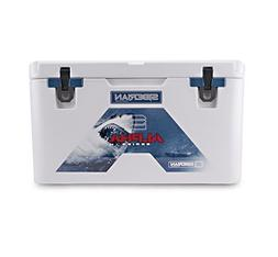 Siberian Coolers Alpha Pro Series 85 Quart in White Bear Res