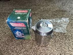 Coleman 9-Cup Aluminum Coffee Percolator New For Camping or