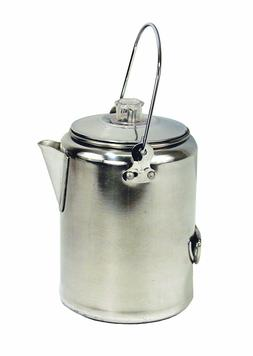 Texsport Aluminum 20 Cup Percolator Coffee Maker for Outdoor