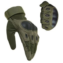 1 Pair Anti-Slip Military Equipment Full Finger Tactical Glo