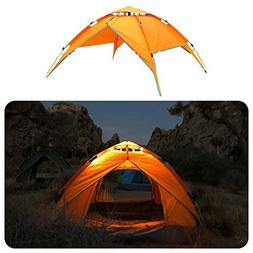 Automatic Hydraulic Camping Tent for 2-3 Person Instant Pop