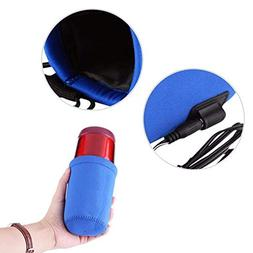 New Baby Bottle Warmer Heater Cover 12V Portable DC Car Quic