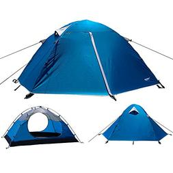 Luxe Tempo 2 Person Tents for Camping Backpacking 3-4 Season