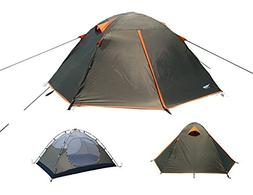 Luxe Tempo Backpacking 2 Person Tents for Camping with Rainf