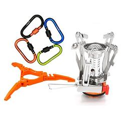 6Pcs Backpacking Cooking System - Bisgear Ultralight Portabl