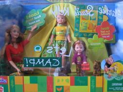 "Barbie Stacie & Kelly LET'S CAMP Gift Set - ""R""U Exclusive S"