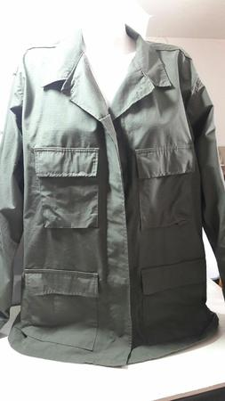 Genuine Gear Bdu Jacket  Color olive Military green XL L Cam