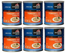 Mountain House Beef Stroganoff #10 Can Freeze Dried Food - 6