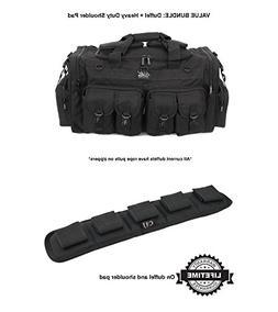 "Nexpak 30"" Black Duffel Duffle Molle Tactical Gear Shoulder"