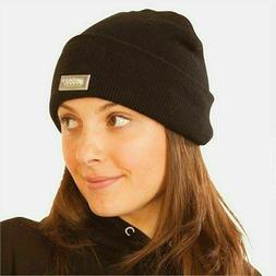 Black Knit Beanie LED Light Hat, Warm Head Gear For Work Cyc