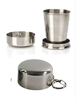 Black Ops 8 oz Stainless Steel Portable Outdoor Travel Campi