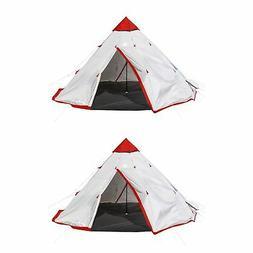 Tahoe Gear Blackhorn 4 Camping 10 Foot 4 Person Sleeper Cone