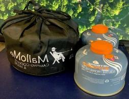 MalloMe BONUS LOT Camping Cookware Mess Kit Backpacking Gear