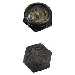 Armor Venue Brass Hexagonal Compass - antique A JOURNEY of 1