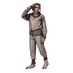 Lixada Mosquito Suit,Repellent Bug Jacket Mesh Hooded Suits