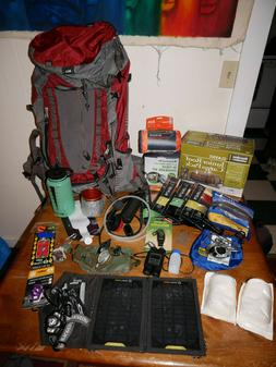 Bug out kit camping gear REI backpack goal zero solar msr wa