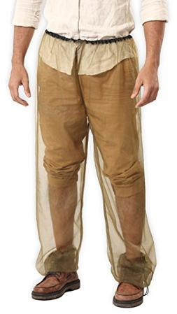 Bug Pants with Free Carrying Pouch - Anti Mosquito Net Repel