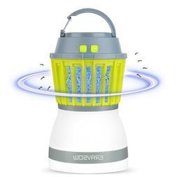 ERAVSOW Bug Zapper & LED Camping Lantern 2-in-1, Waterproof