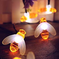 BZ745 LED bee festival home garden decoration lamp curtain s