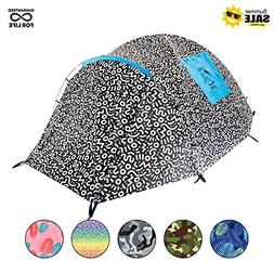 Chillbo Cabbins 2 Person Tent with Cool Patterns Ultimate Ca