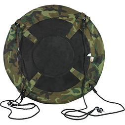 """40"""" Camo Disc Nest Rope Hanging Tree Swing Camping Chair Hea"""