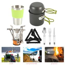 camping cookware mess kit bag equipment backpacking