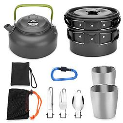 camping cookware mess kit